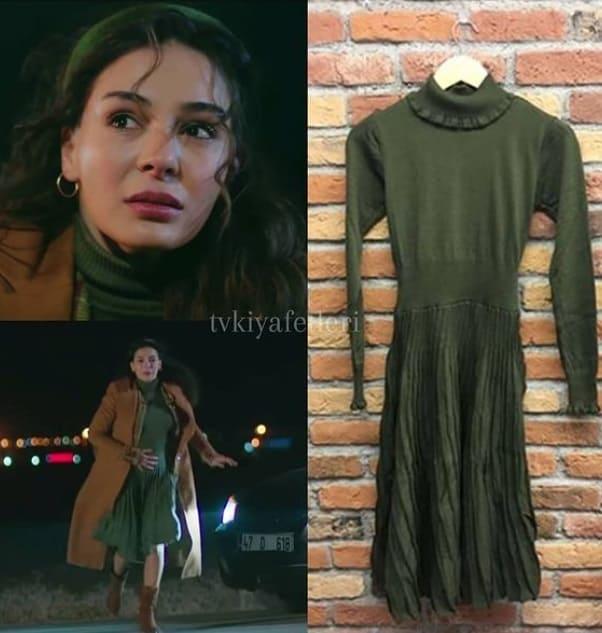 28 Mart Hercai dizisinde Reyyanın yeşil elbisesi