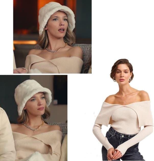 30 Ocak Sen Çal Kapımı Cerenin giydiği kıyafet kazak