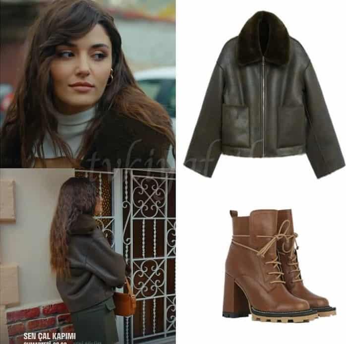 5 Aralık Sen Çal Kapımı dizisinde Eda'nın giydiği Ceket bot