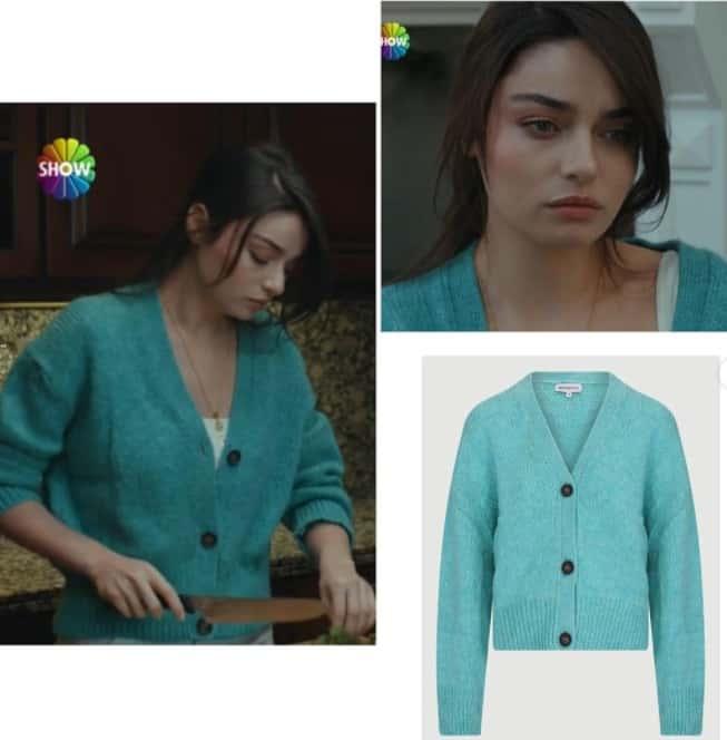 Arıza dizisi Halide'nin son bölüm giydiği kıyafetler bluz