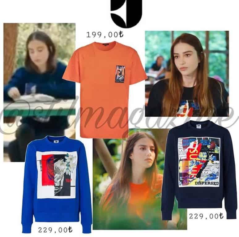 Bay Yanlış 10. Bölüm Ezginin tişörtü renkli