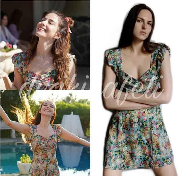 Ezgi'nin çiçek desenli elbisesi Bay yanlış 4. bölüm