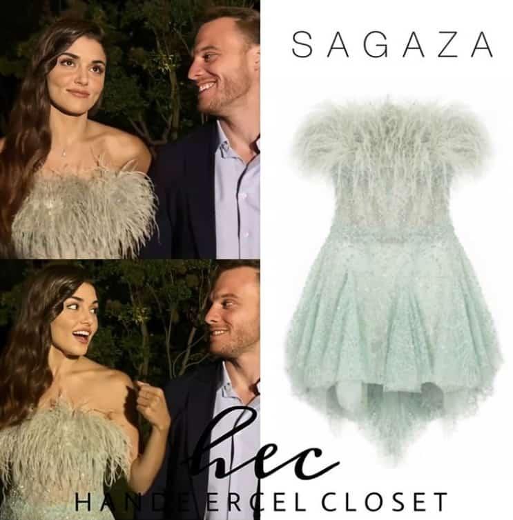 Eda'nın Hande Ercel yeni bolum elbisesi marka model