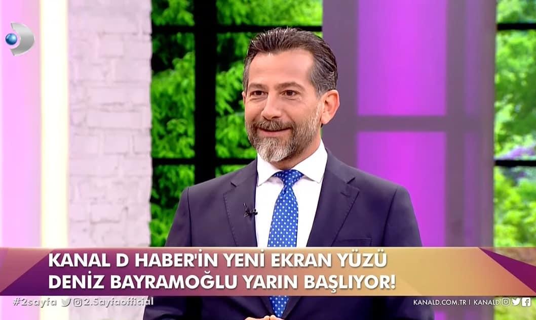 Kanal D Ana Haber sunucusu Deniz Bayramoğlu kimdir