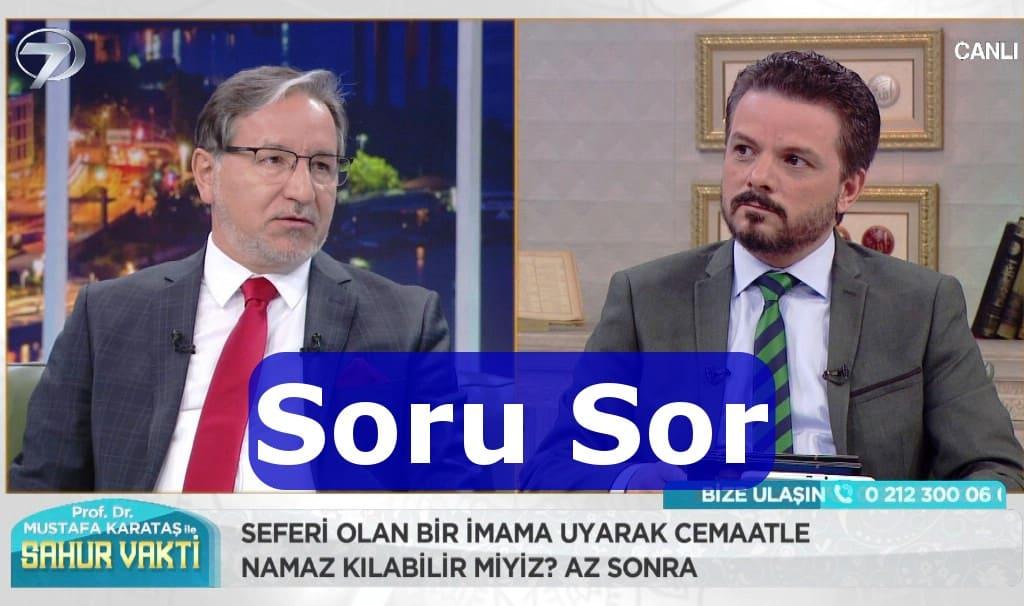 Mustafa Karataş Hocaya Soru hattı
