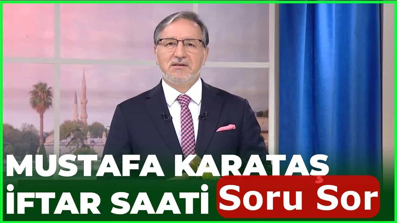 Mustafa Karataş hocaya soru sorun