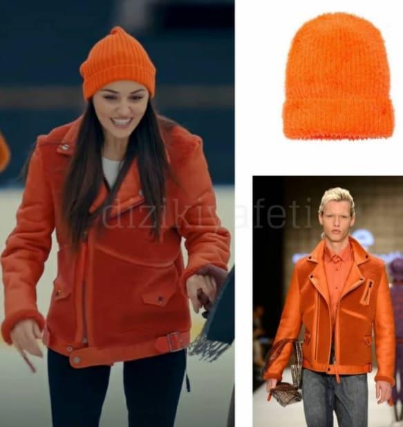 Sen Çal Kapımı Edanın turuncu ceketi