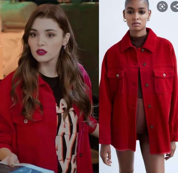 Sen Çal Kapımı Sezon Finali Edanın kırmızı ceketi