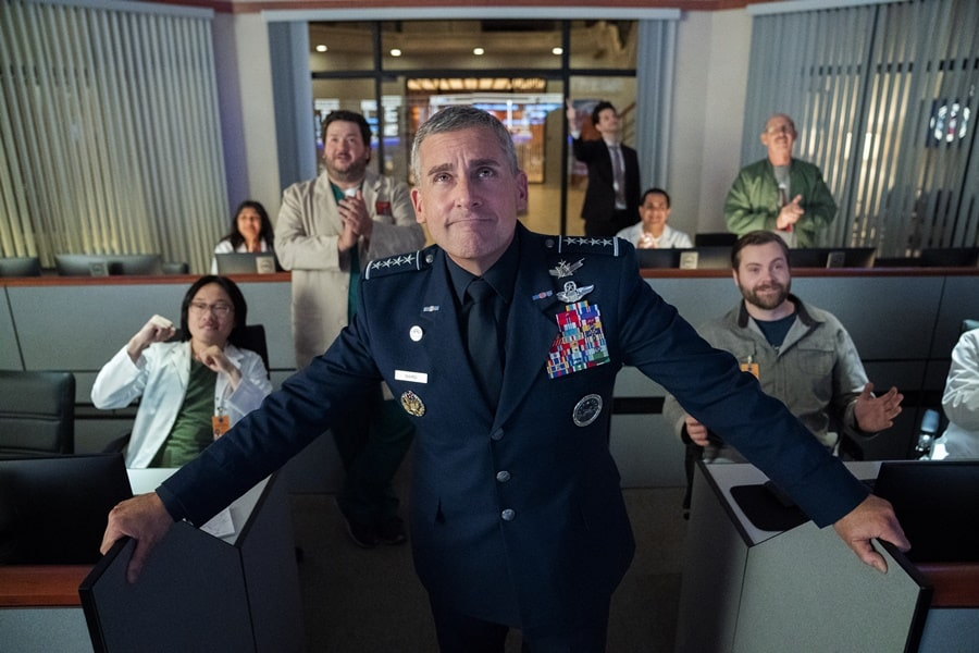 Space Force (Netflix) Dizisi oyuncu kadrosu