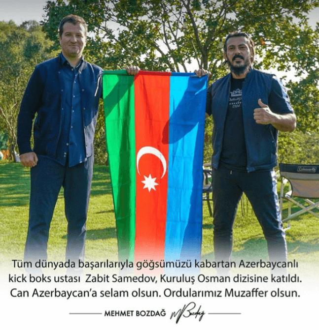 Zabit Samedov kurulus osman dizisinde