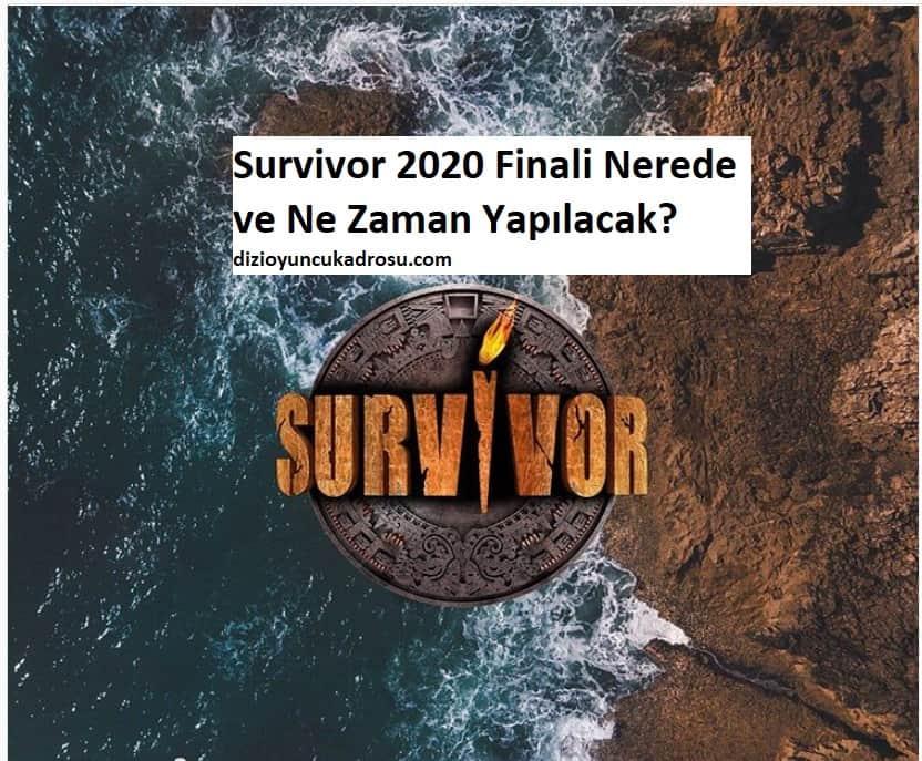 survivor 2020 bodrum mu dominik mi nerede yapılacak