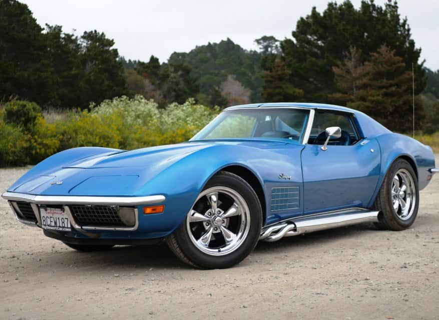 Bay yanlis 1970 Chevy Corvette Stingray