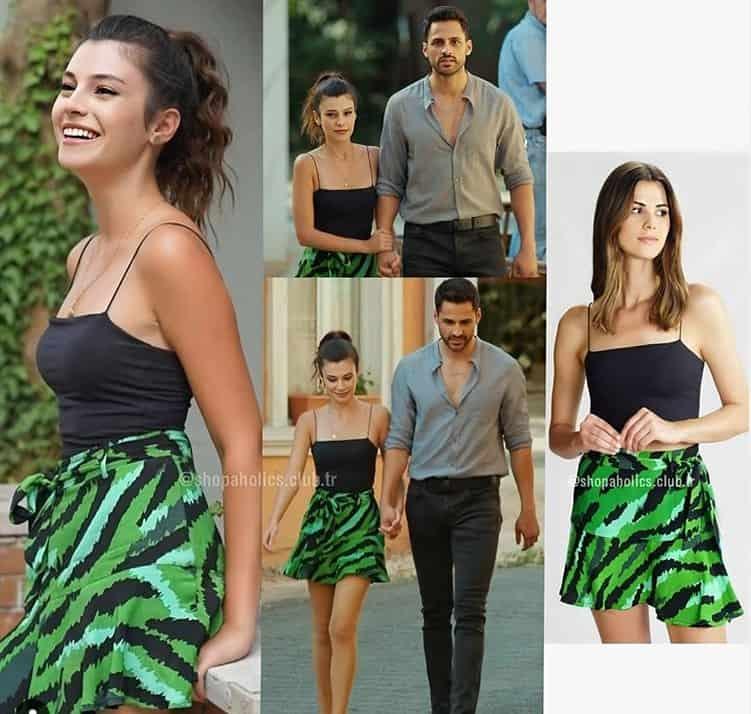 Gençliğim Eyvah Azra Yeşil Etek markası