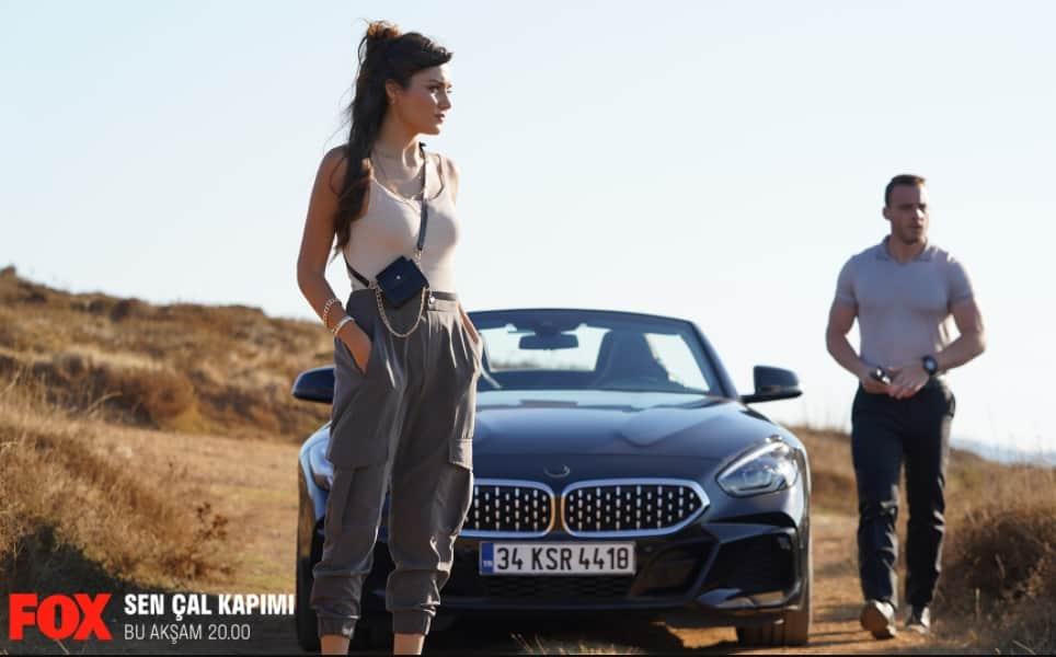 Serkan Bolat cabrio BMW araba