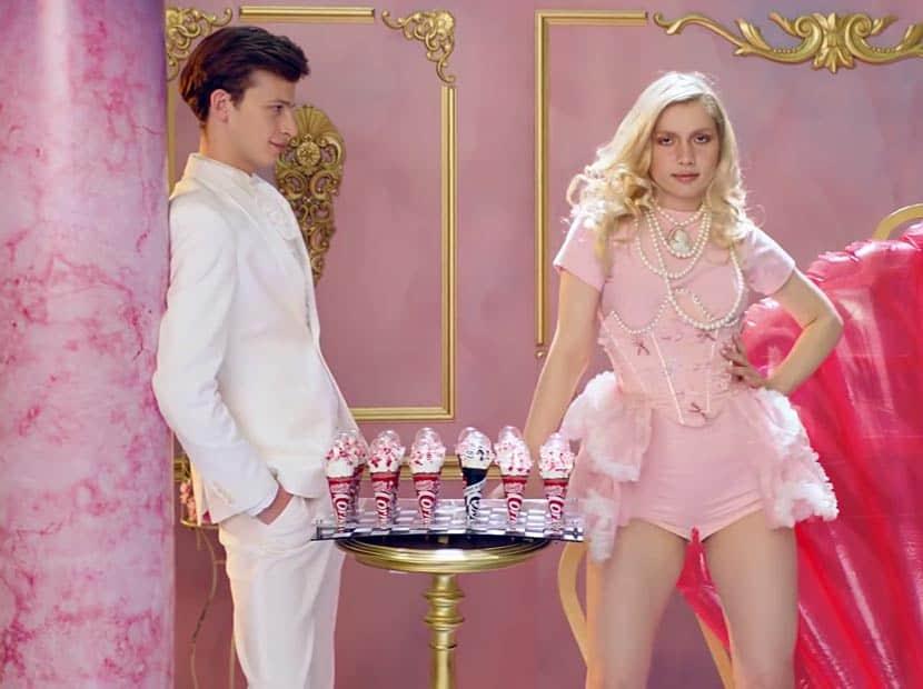 aleyna tilki cornetto reklamında
