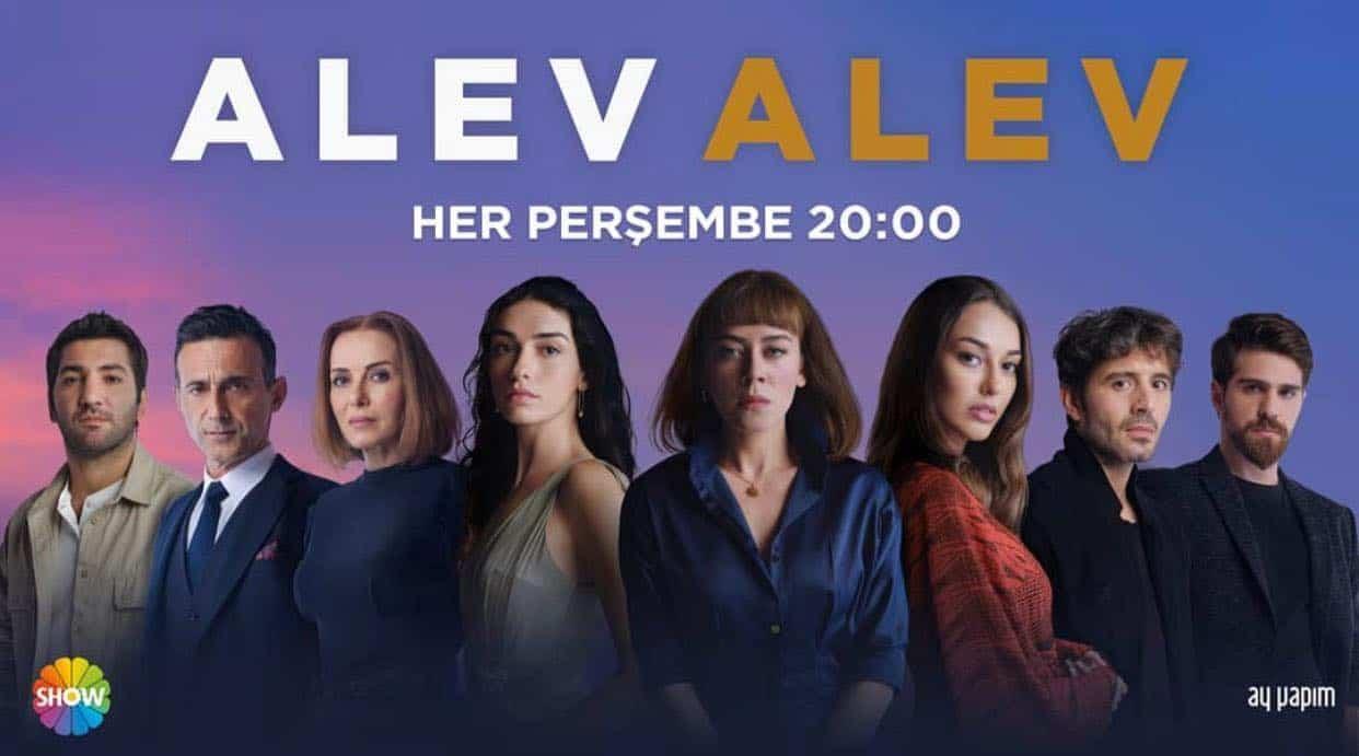 Alev Alev dizisi oyuncu kadrosu tam resim