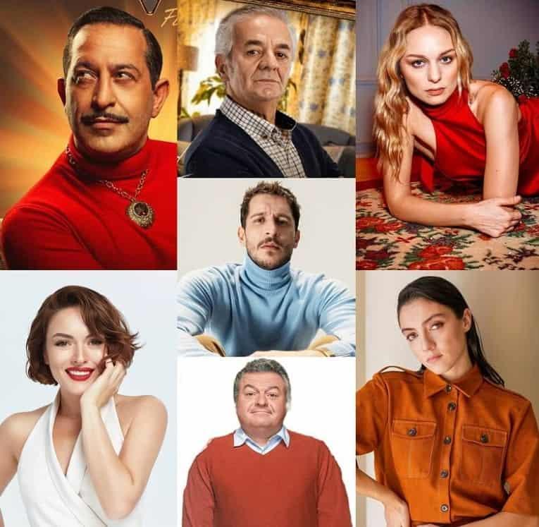 Ersan Kuneri dizisi oyunculari kadrosu