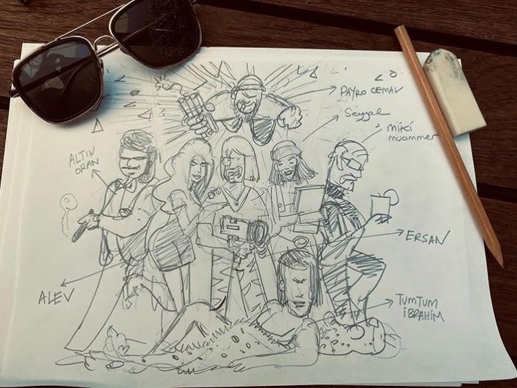 Ersan Kuneri dizisi oyunculari karakterleri