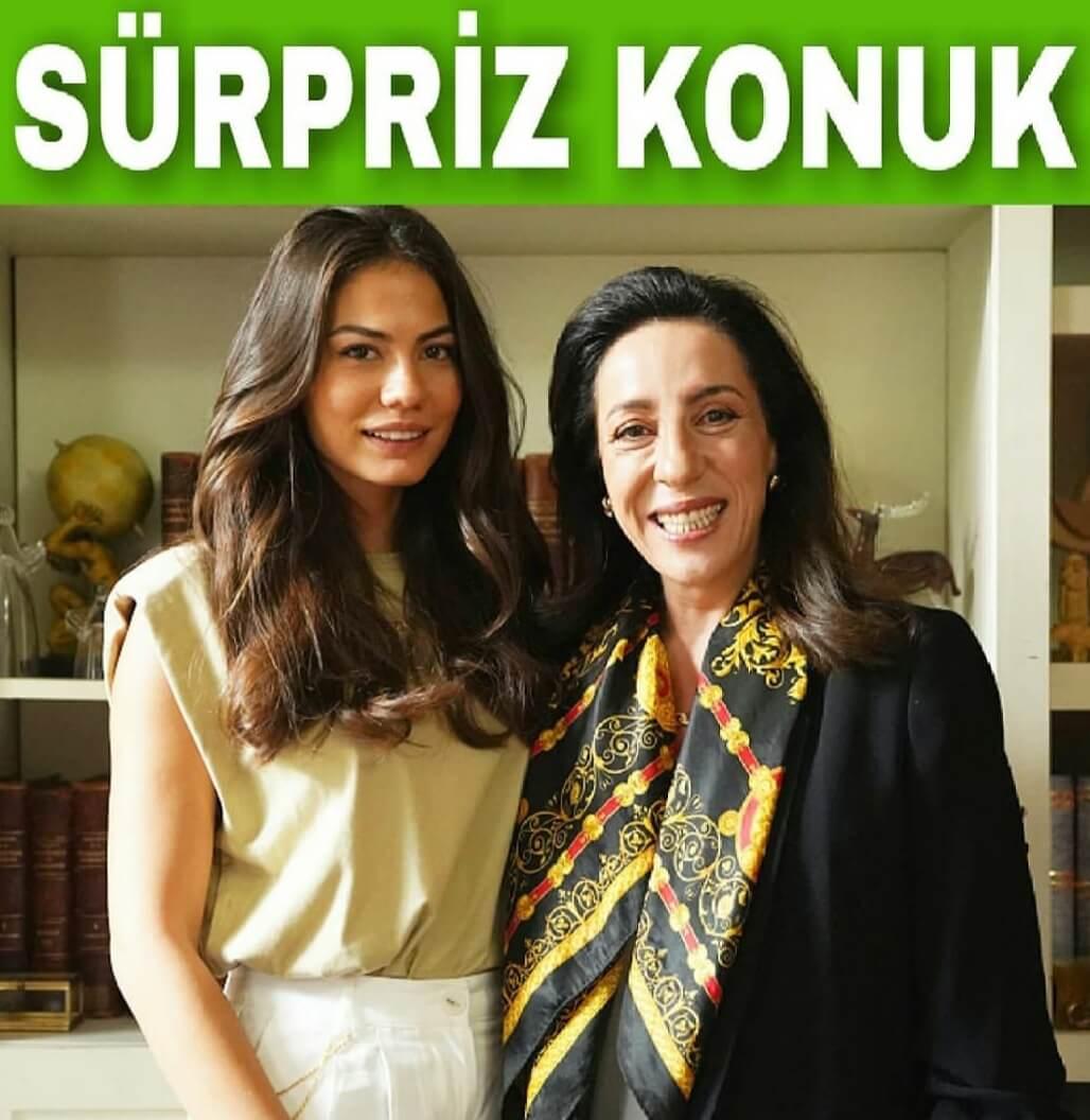 Kirmizi oda dizisi Demet Ozdemir konuk oyuncu