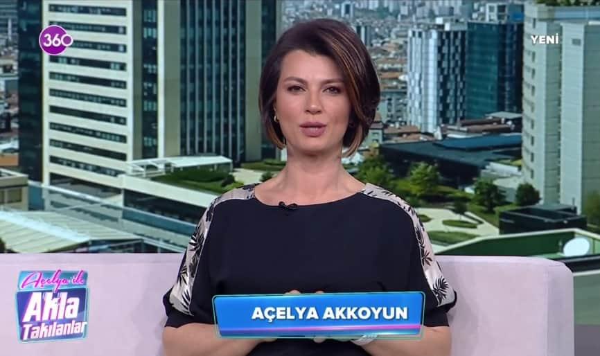Acelya Akkoyun 360Tv Akla Takilanlar Program Sunucusu
