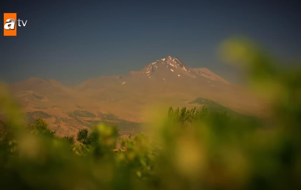 Maria ile Mustafa dizisi Erciyes Manzarası neresi