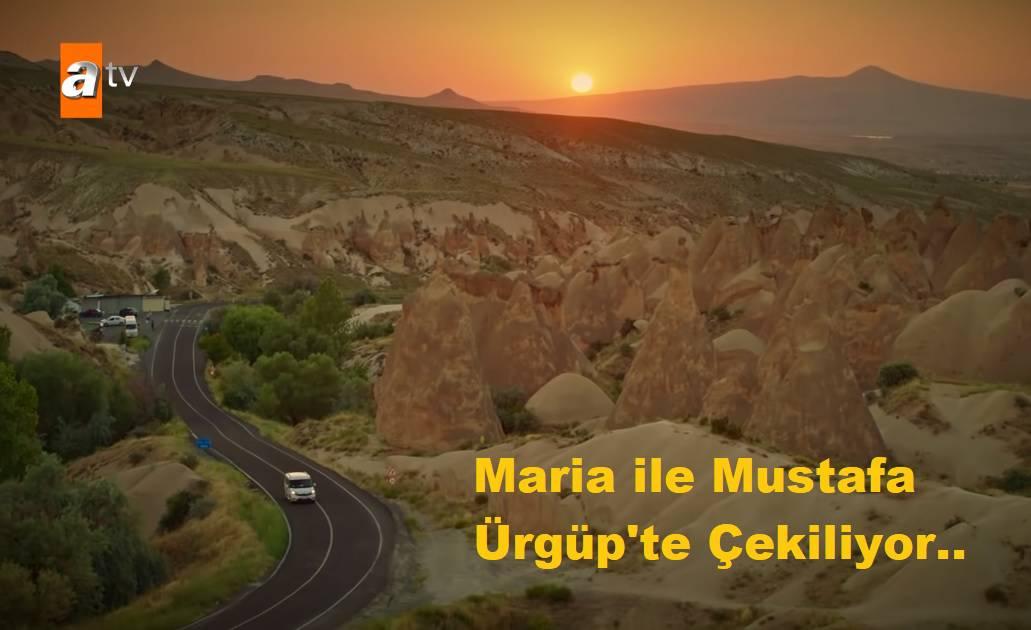 Maria ile Mustafa dizisi Ürgüpte Çekiliyor