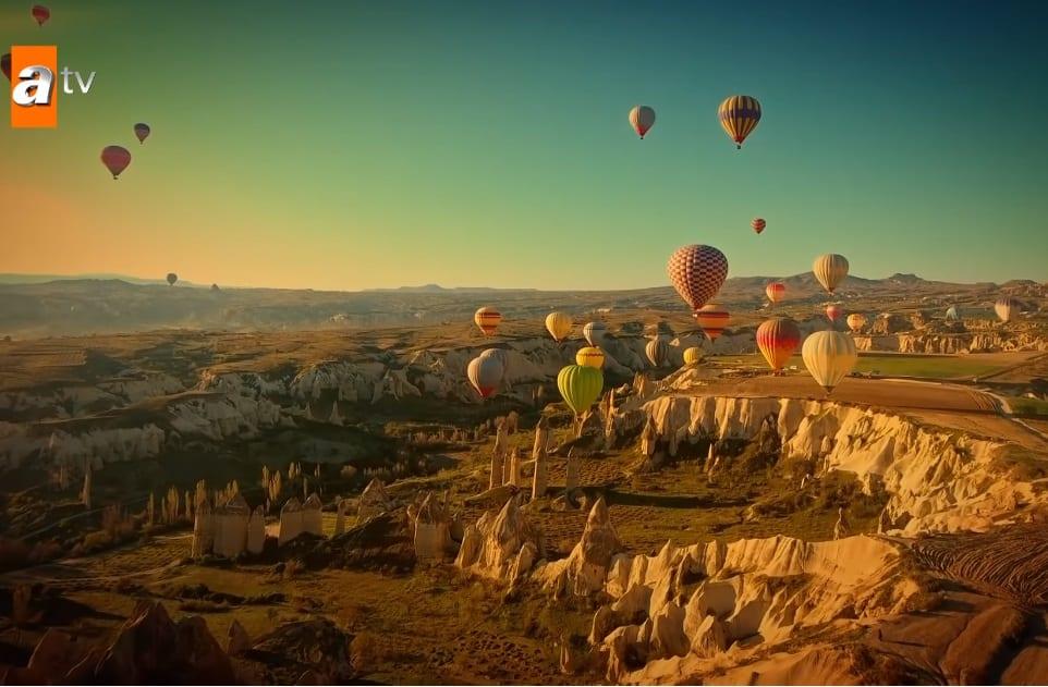 Maria ile Mustafa dizisi balonlar nerede