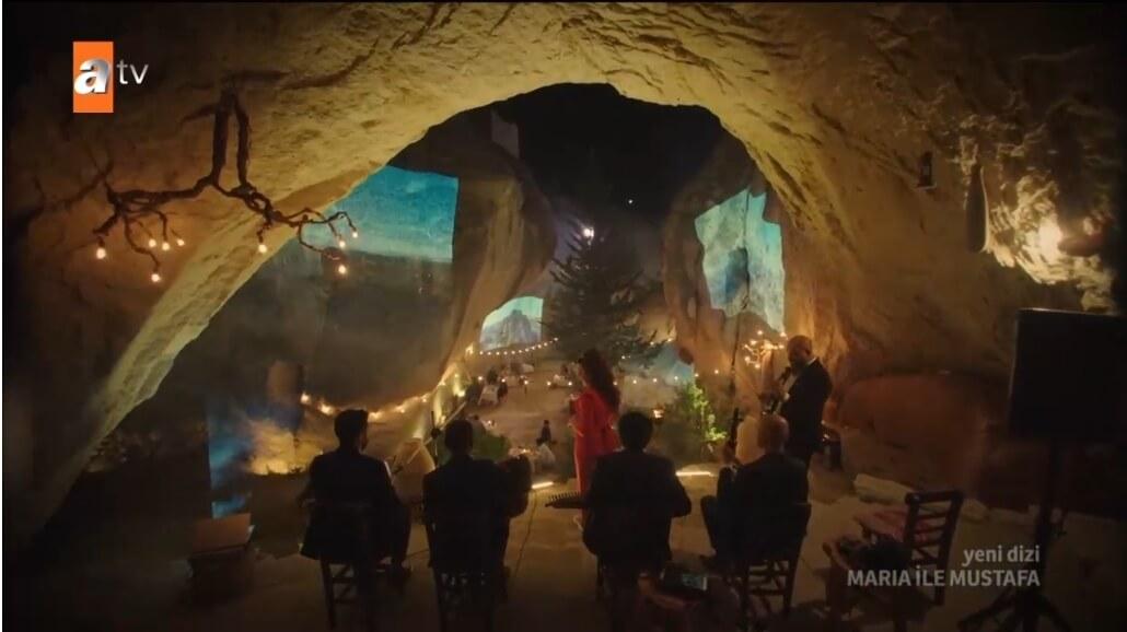 Maria ile Mustafa yemek yedigi yer