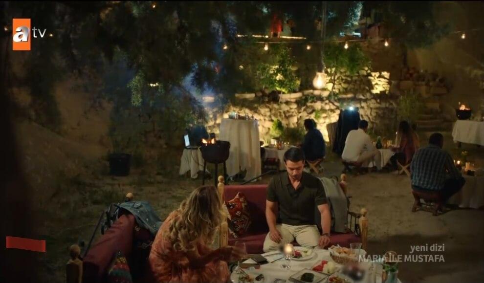 Maria ve Mustafa'nin birlikte gittigi yer neresi