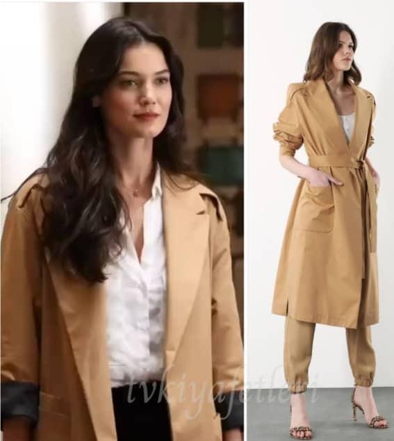 12 Mart Kırmızı Oda dizisi Nazlı'nın giydiği ceket kıyafet