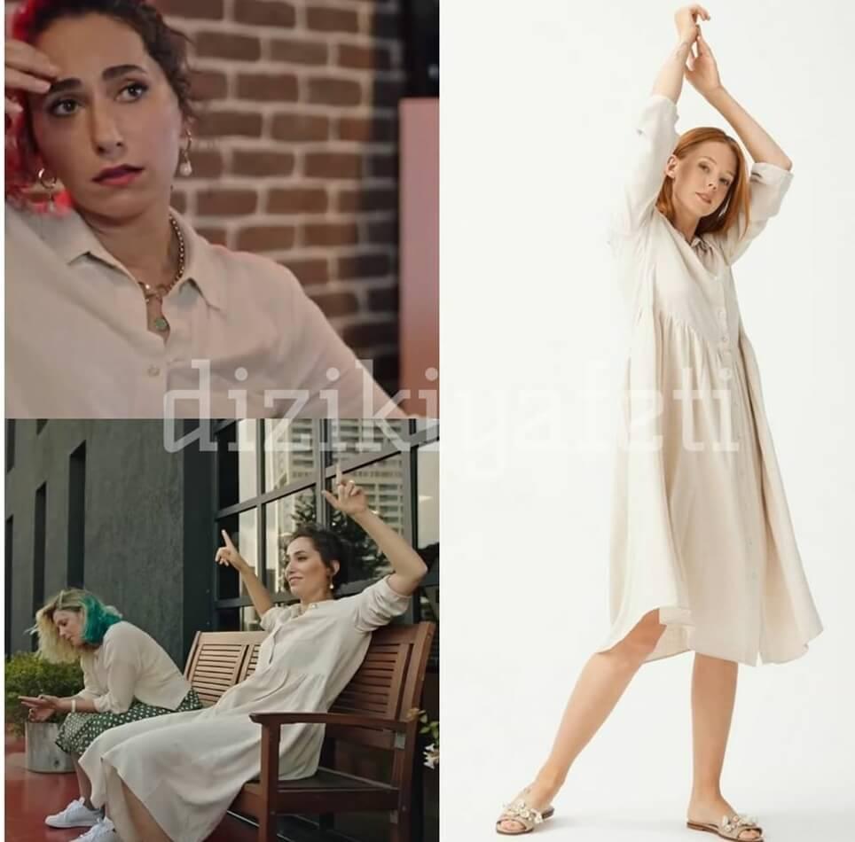 Masumlar Apartmani Esra'nin giydigi beyaz elbise