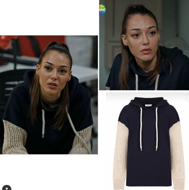 18 Şubat Alev Alev dizisi Rüyanın kıyafeti sweatshirti