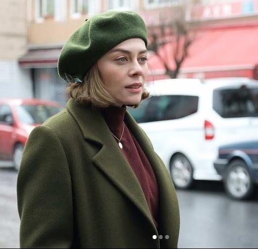 18 Şubat Alev alev dizisi Cemrenin giydiği yeşil kaban