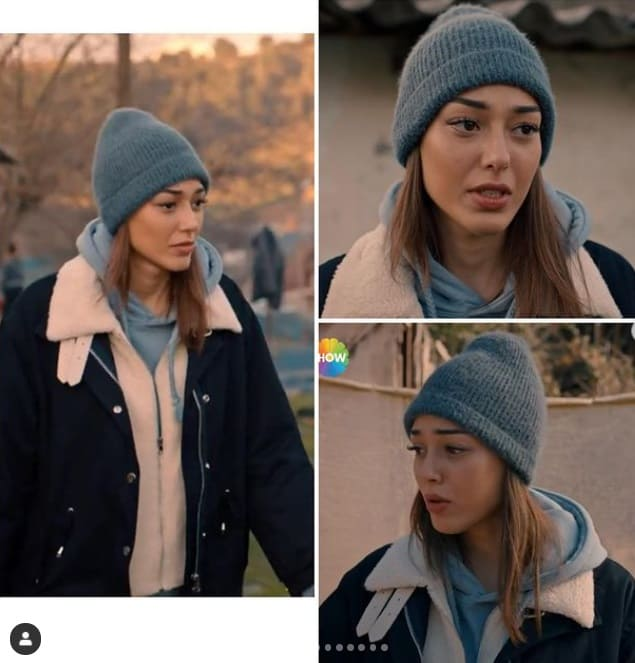18 Şubat Alev alev dizisi Rüyanın giydiği bere kaban sweatshirt
