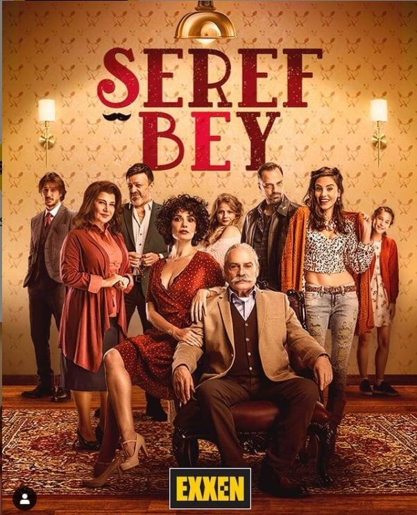 Seref Bey dizisi afisi oyunculari