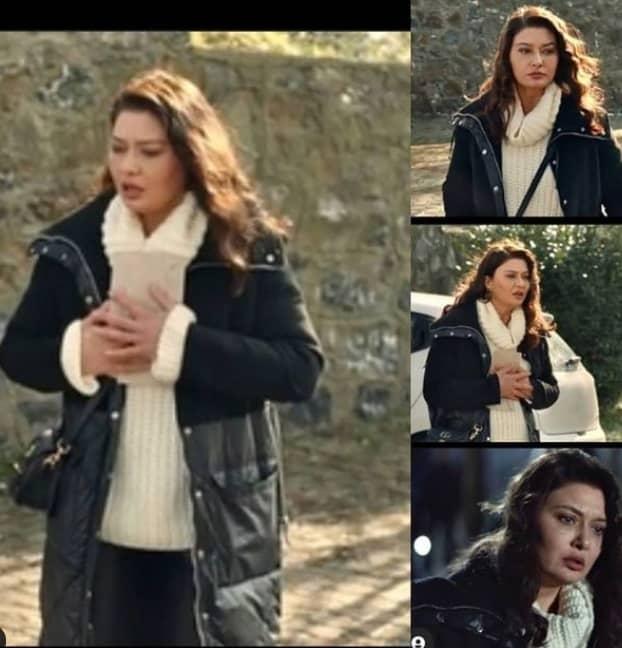 14 Şubat Kefaret Dizisi Zeynep'in giydiği kaban markası