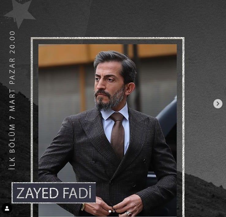 Teskilat dizisi Zayed Fadi kimdir