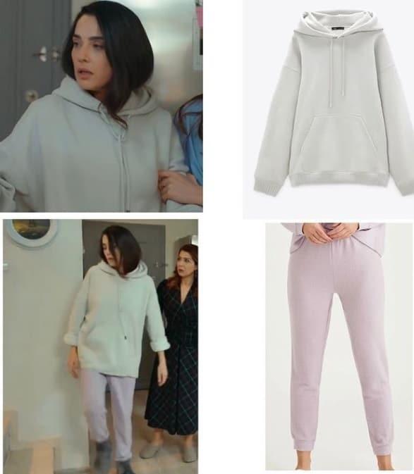 19 Şubat Son Yaz dizisinde Canan'ın giydiği sweatshirt markası Zara