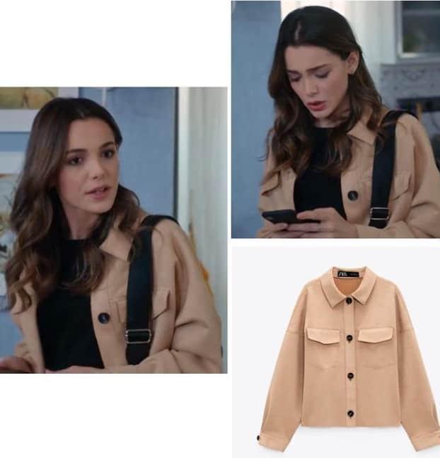 2 Nisan Son Yaz dizisinde Yagmurun giydigi mont ceket