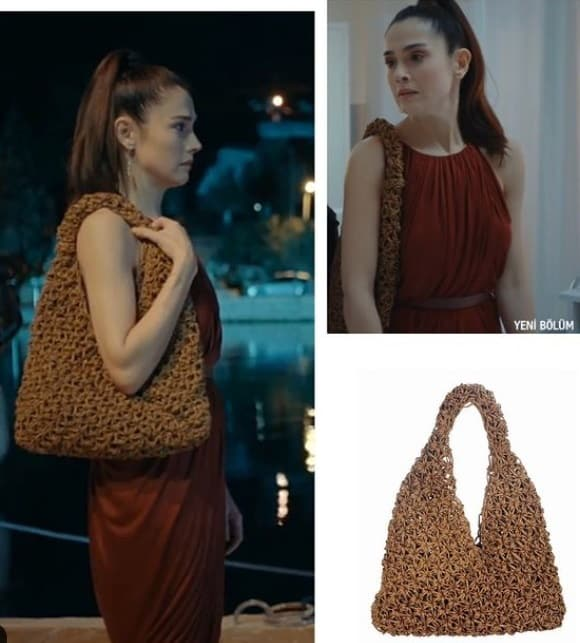 22 Ocak Son Yaz dizisi Canan'ın (Funda Eryiğit) giydiği kıyafet ve çanta