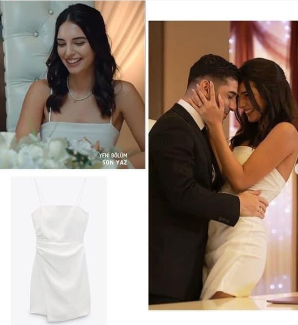 26 Eylül Son Yaz dizisi Nazın giydiği elbise