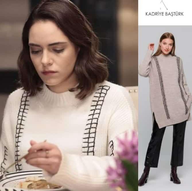 Akrep dizisinde Durunun giydiği kazak markası