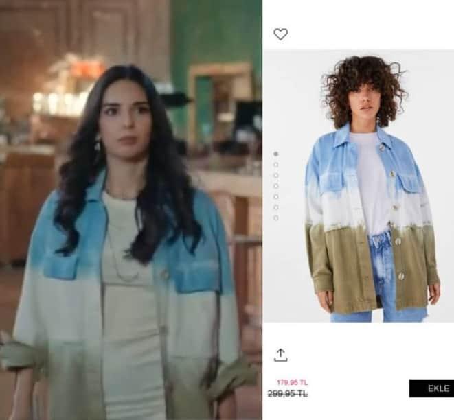 Son Yaz dizisi Naz gömlek markası