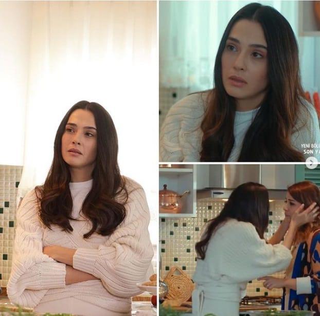 Son yaz dizisinde Canan'ın giydiği kazak markası