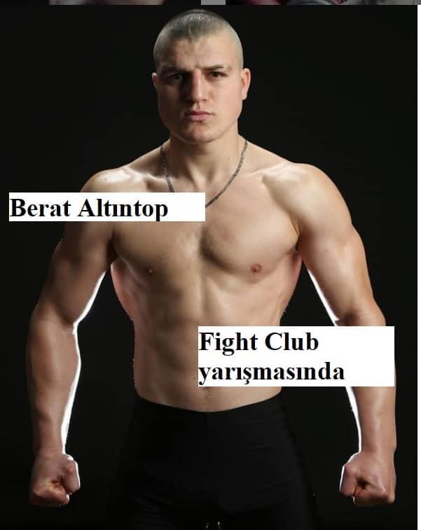 berat altintop fight club yarismasinda