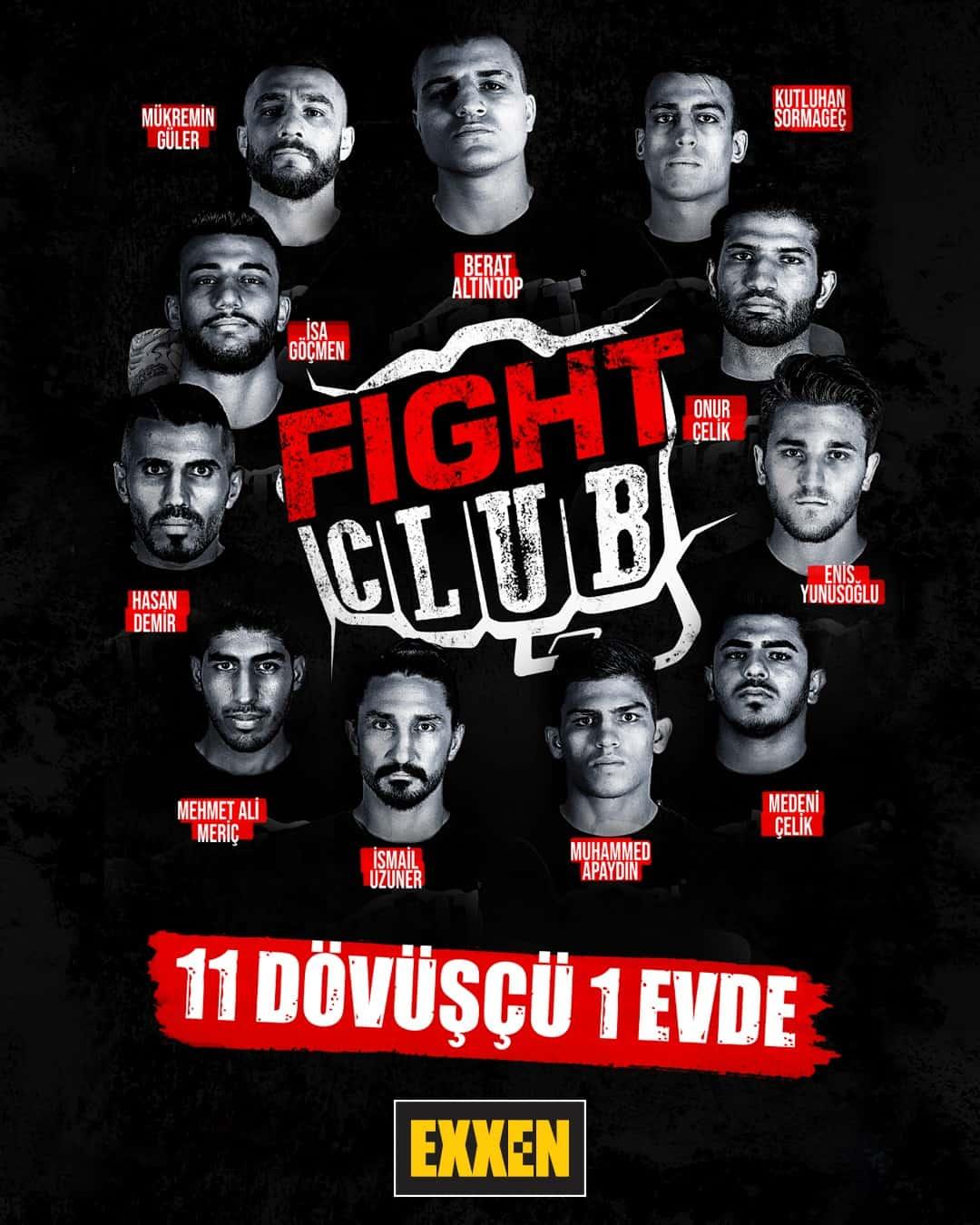 fight club yarismacilari dovusculeri