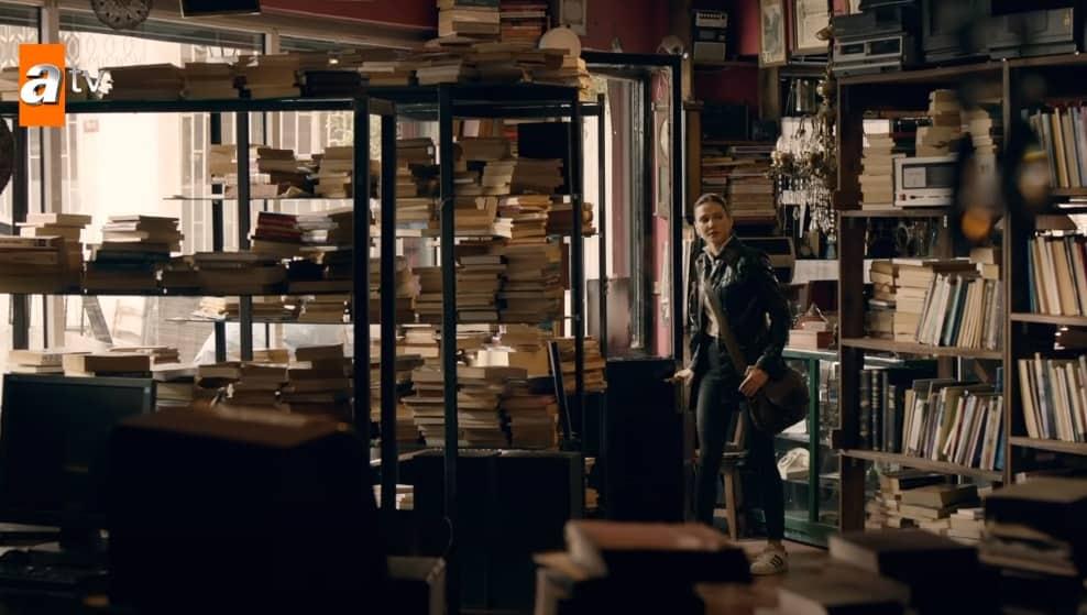 marasli dizisindeki kitapci nerede adi ne