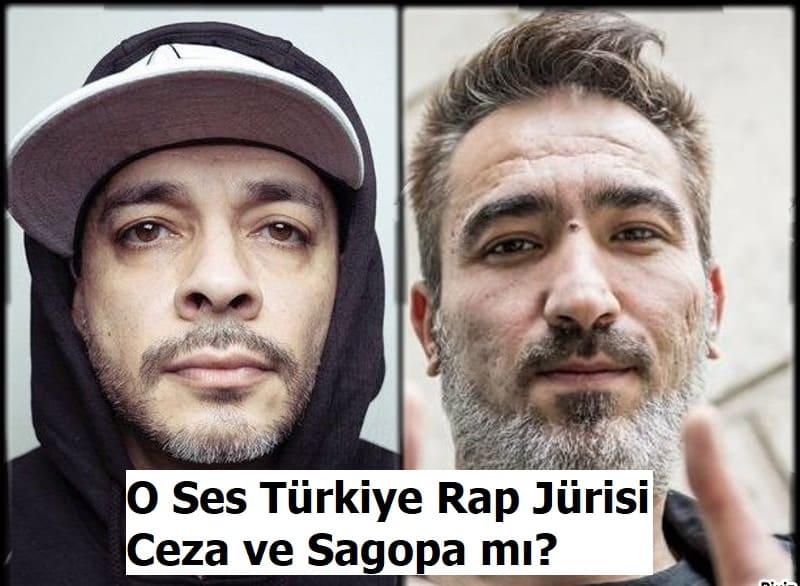 o ses Turkiye rap jurisi