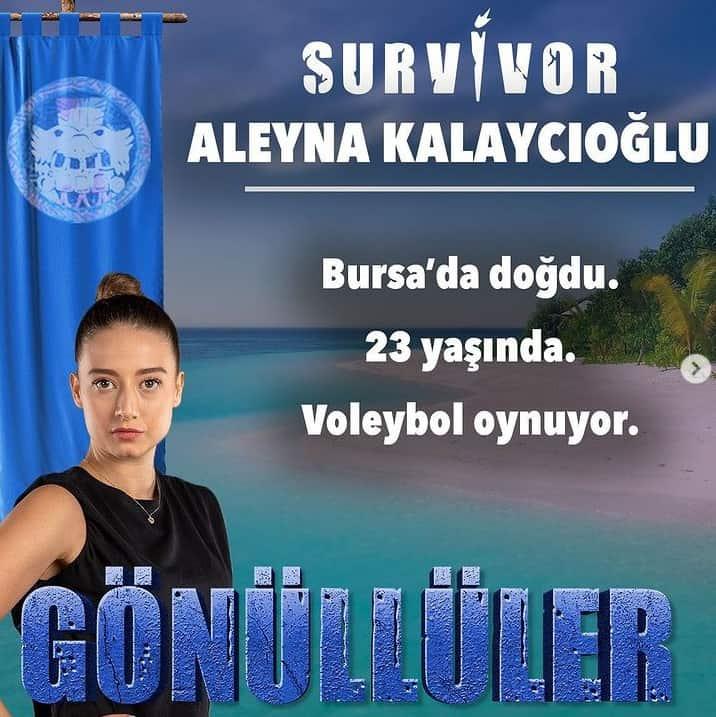 survivor 2021 aleyna kalaycioglu