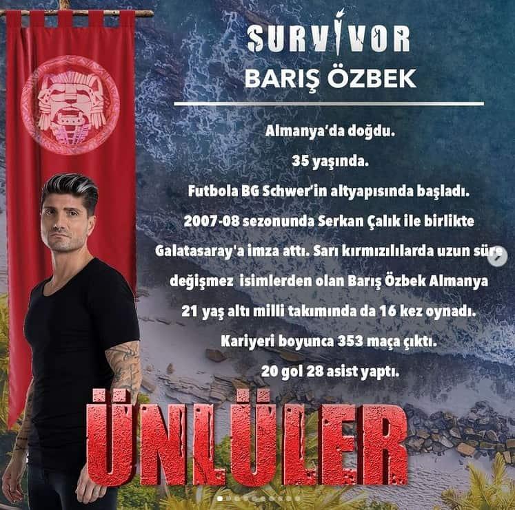 survivor 2021 baris ozbek